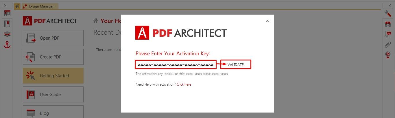 How to Activate PDF Architect – PDF Architect