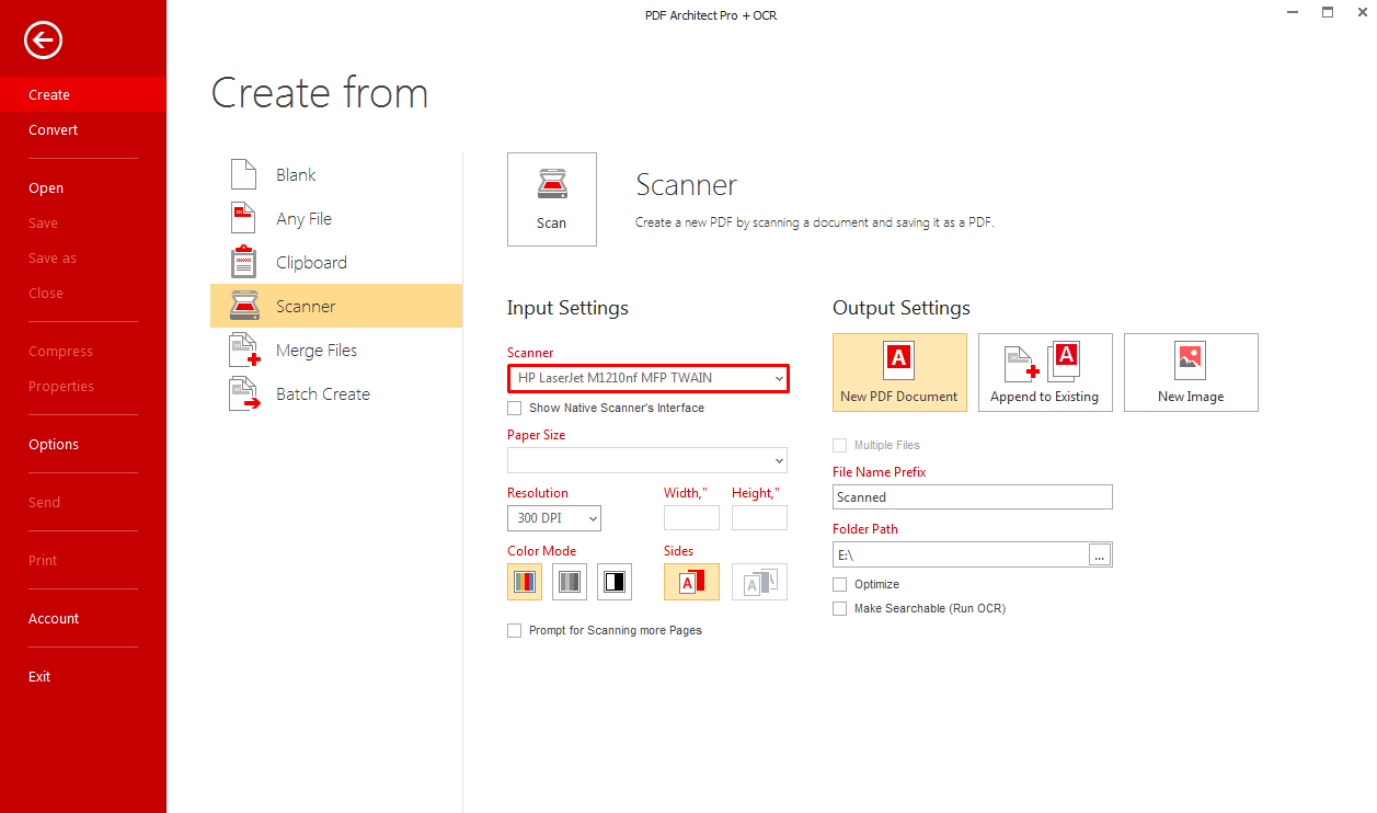 How Do I Create a PDF File Directly From My Scanner? – PDF