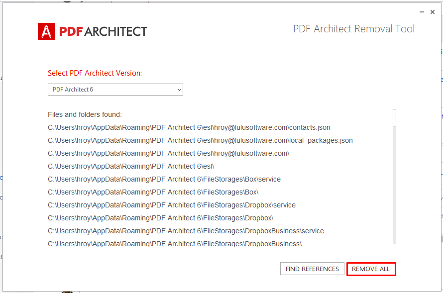 How to Uninstall PDF Architect – PDF Architect